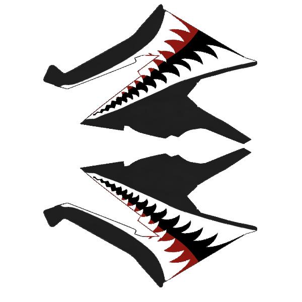 Ski-doo - XM - Teeth